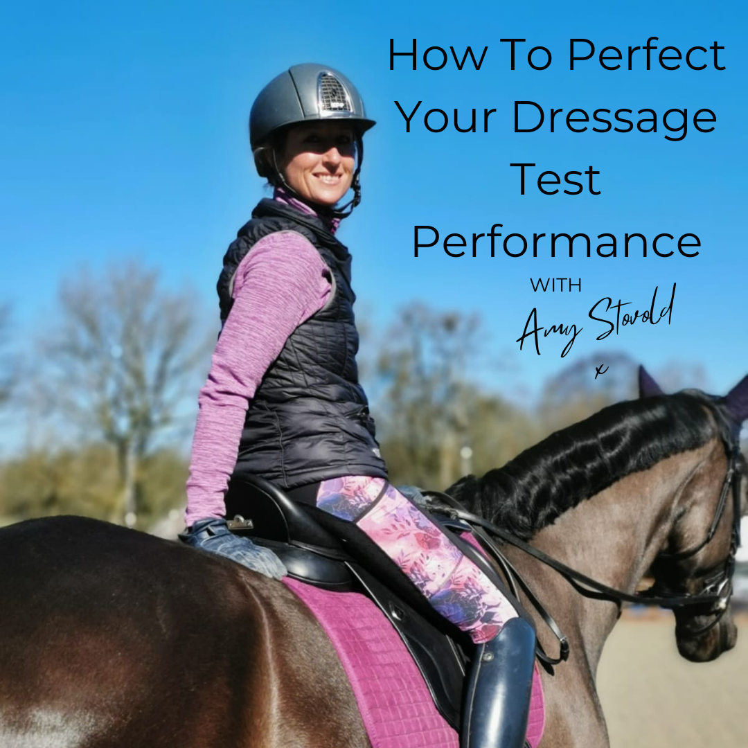How To Perfect Your Dressage Test Performance With Amy Stovold
