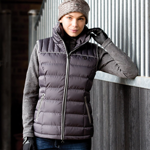 Why a gilet can be more practical than a coat!