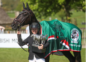 Doing it for the girls! Jonelle Price takes the top prize at Badminton Horse Trials