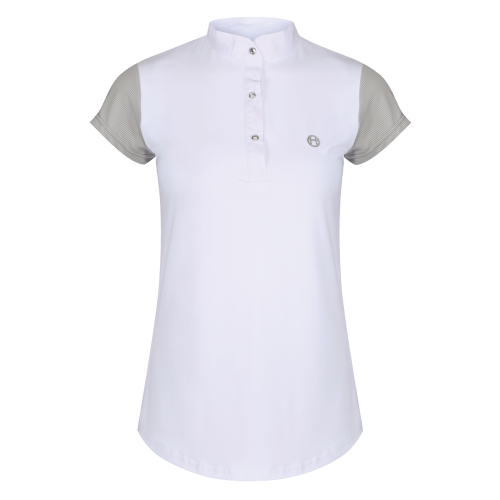 Alexa Competition Shirt - White/Grey 8