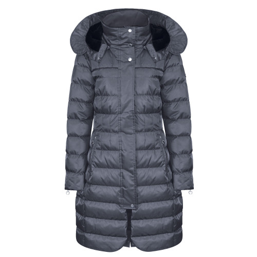 Alpha Long Padded Coat - Graphite XL