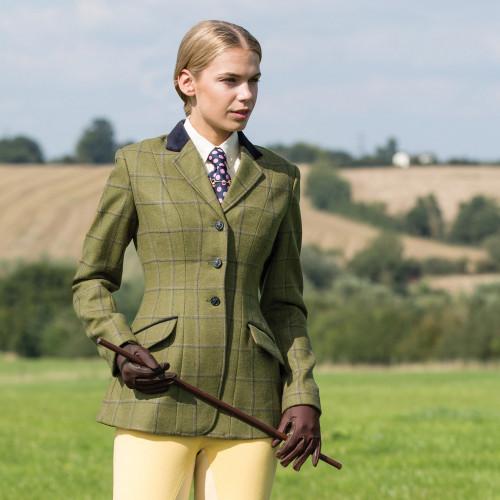 Adstock Deluxe Tweed Riding Jacket
