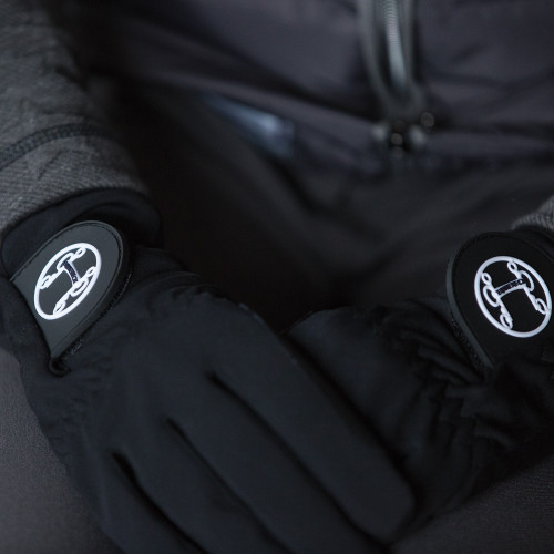 Aurora Winter Riding Gloves - Black L