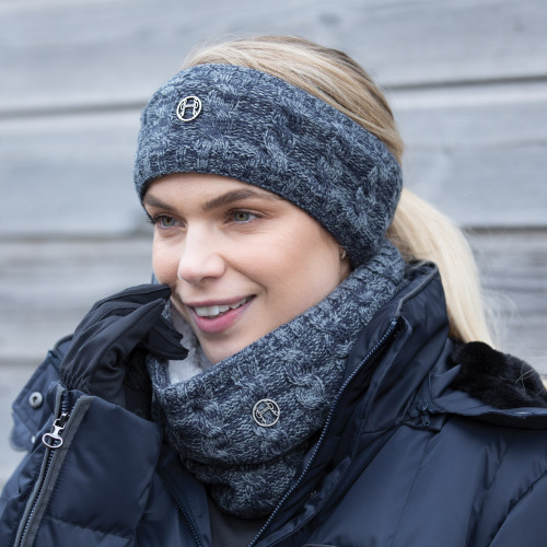 Blended Cable Knit Snood