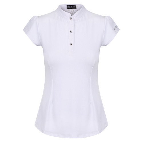 Bella Lace Competition Shirt - White UK10 / US6