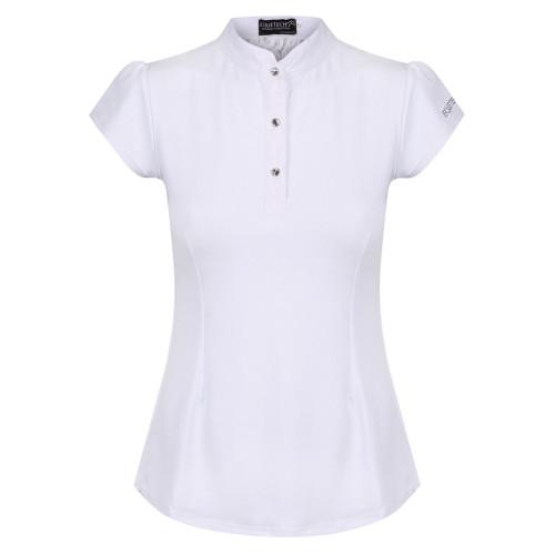 Bella Lace Competition Shirt - White UK14 / US10