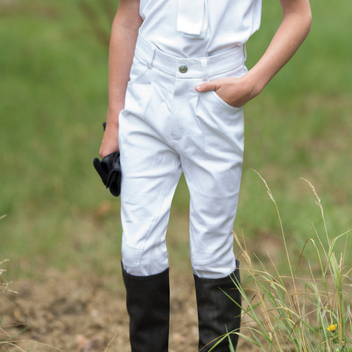 Boys Sports Breeches  - Grey 24