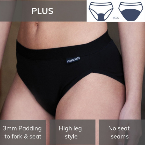 Bikini Brief / Plus Black L