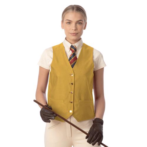 Jacquard Classic Waistcoat - Canary