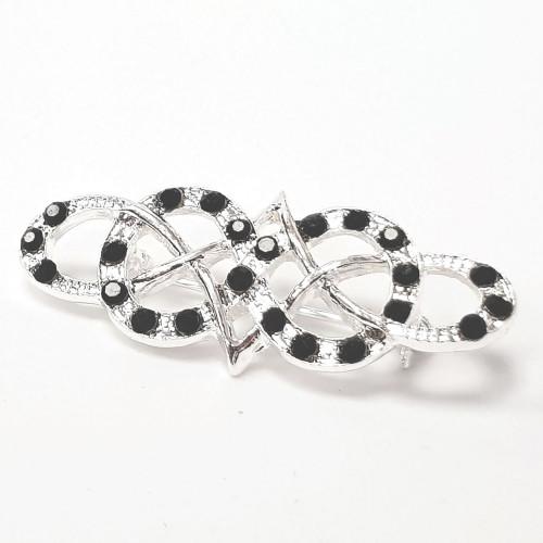 Celtic Stock Pin - Silver