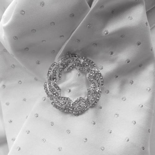Crystal Garland Stock Pin