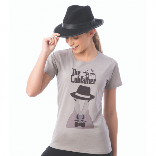 The Cobfather Novelty Tee - Grey XS