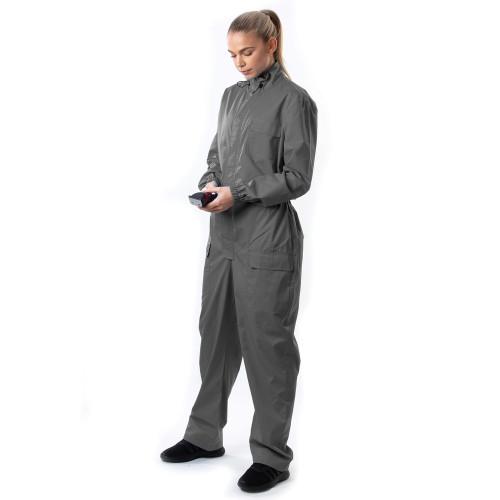 Pro-Clip Coveralls  - Grey L