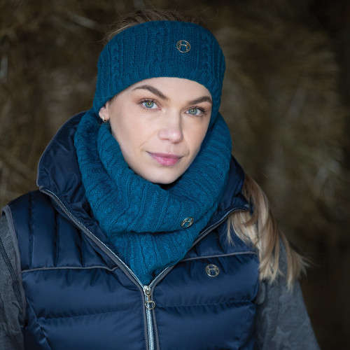 Cable Twist Knit Snood - Dragonfly O/S