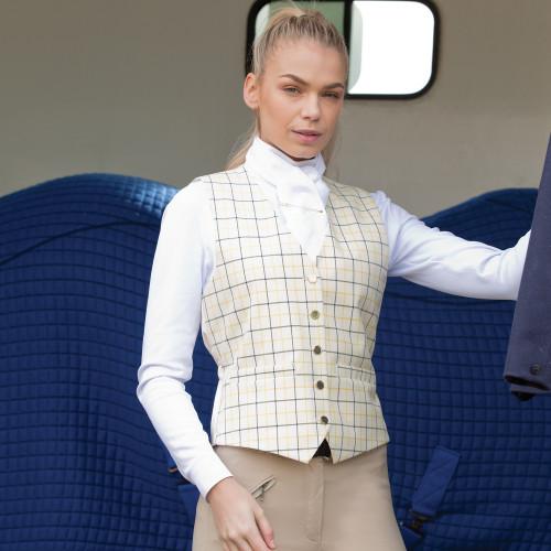 Classic Tattersall Check Waistcoat