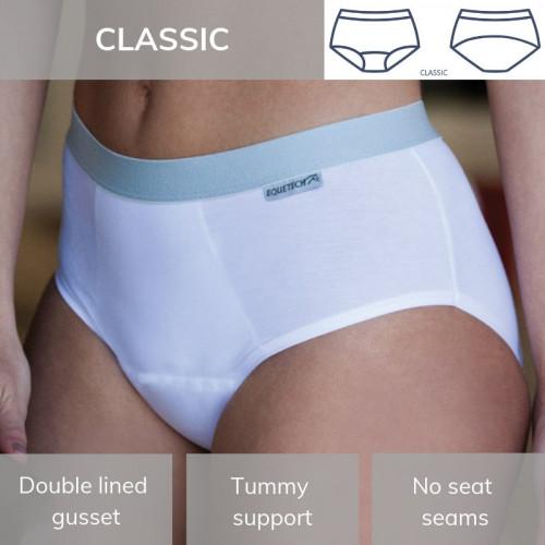 Dressage Brief / Classic White L