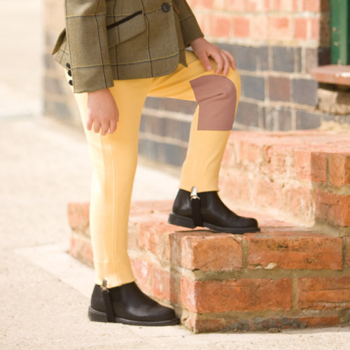 Dinky Deluxe Jodhpurs - Canary/Fawn L