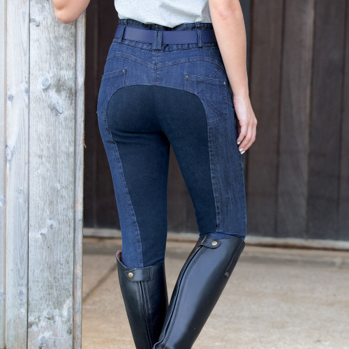 Denim Shaper Breeches