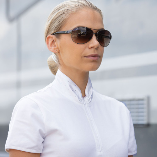 Ella Competition Shirt - White XS