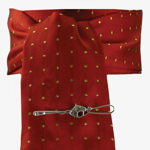 Pin Spot Riding Stock - Red/Gold