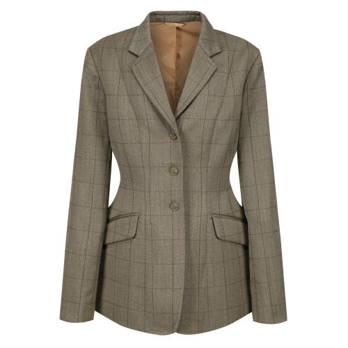 Foxbury Tweed Riding Jacket - Olive 44