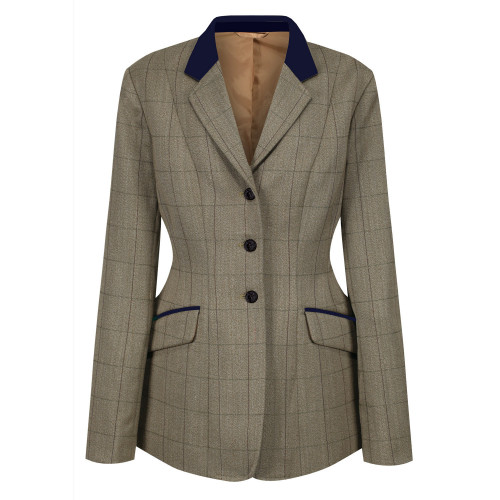 Foxbury Deluxe Tweed Riding Jacket - Olive 44