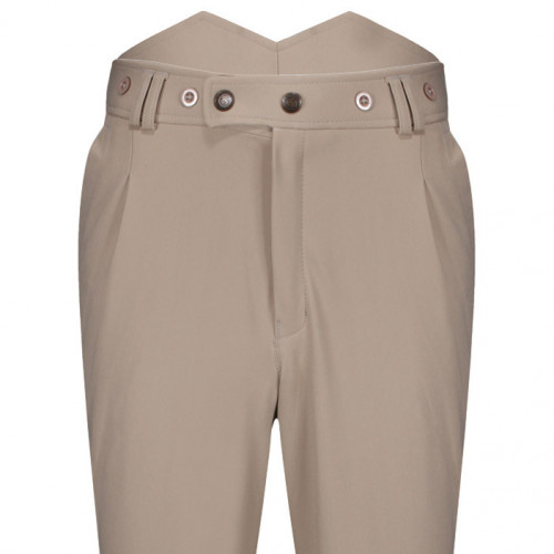 Mens Foxhunter Hybrid Breeches - Beige 30