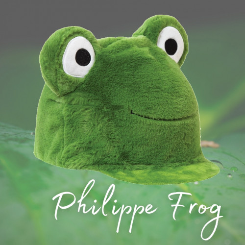 Philippe Frog Hat Silk