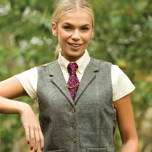 Fen Lapel Tweed Waistcoat
