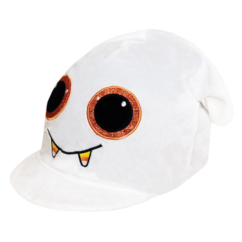 Childs Boo The Ghost Hat Silk - White O/S