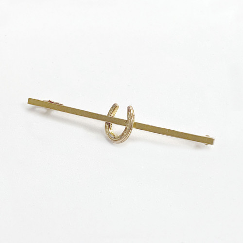 Horseshoe Stock Pin