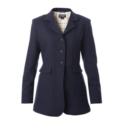 Ladies Hunt Wool Frock Coat - Navy 34