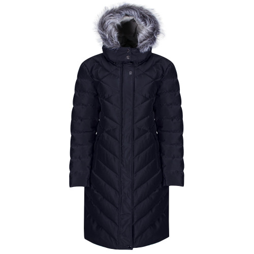 Inferno Long Quilted Coat <Heated>