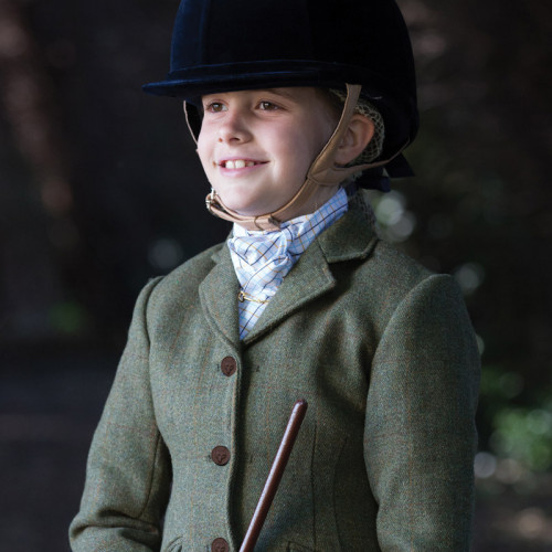 Junior Claydon Tweed Riding Jacket