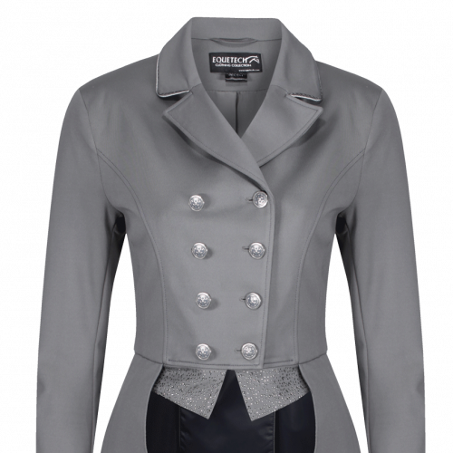 Jersey Deluxe Dressage Tailcoat - Grey 12
