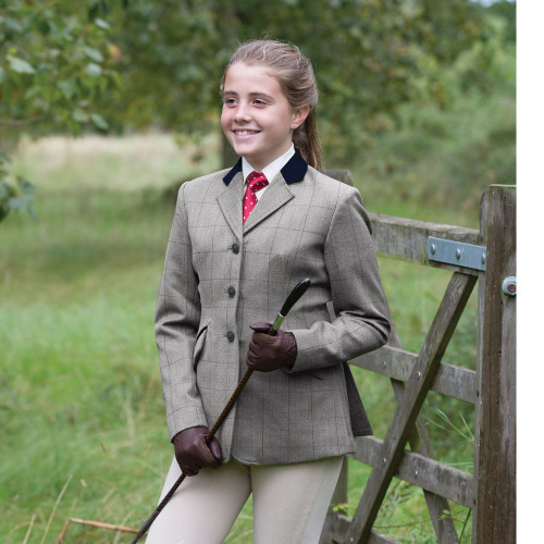 Junior Foxbury Deluxe Tweed Riding Jacket