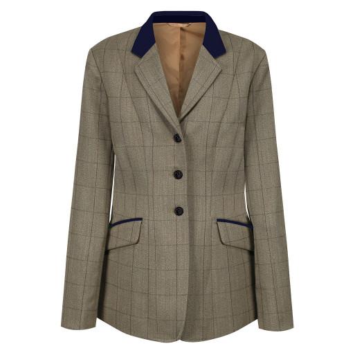 Childs Foxbury Deluxe Tweed Riding Jacket - Olive 22