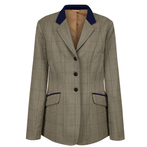 Childs Foxbury Deluxe Tweed Riding Jacket - Olive 22