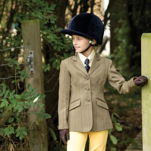 Junior Foxbury Tweed Riding Jacket
