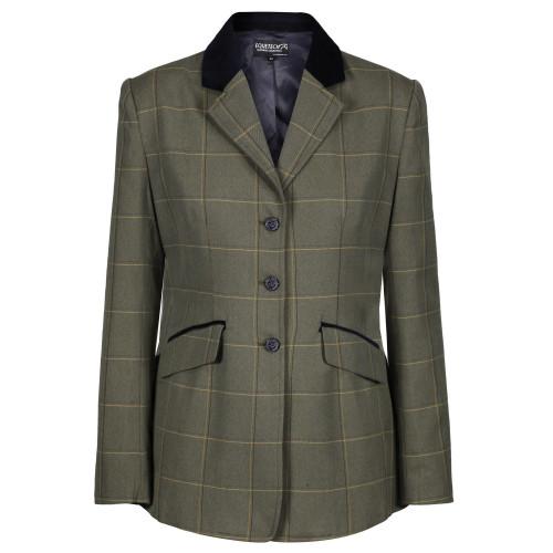 Junior Kensworth Deluxe Tweed Riding Jacket