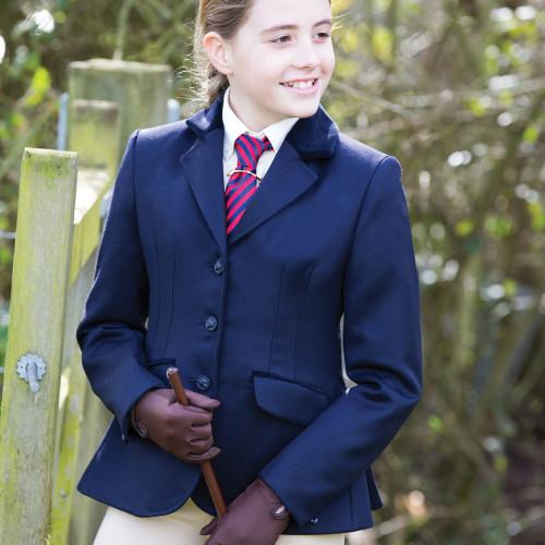 Junior Kimblewick Wool Riding Jacket