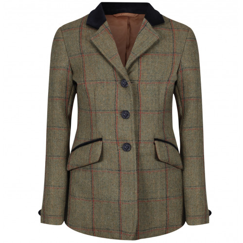 Junior Launton Deluxe Tweed Riding Jacket