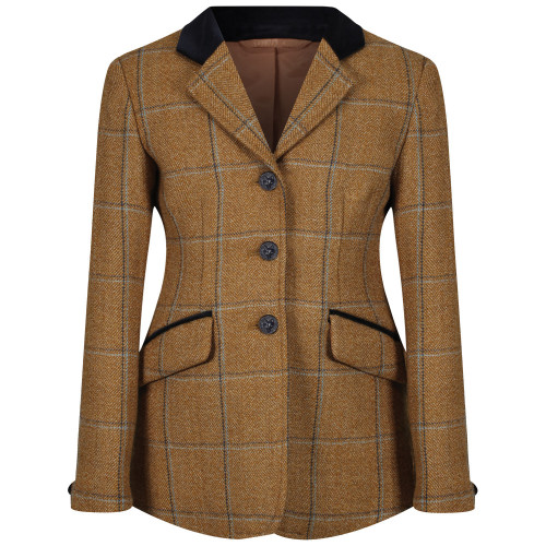 Childs Studham Deluxe Tweed Riding Jacket - Biscuit 22