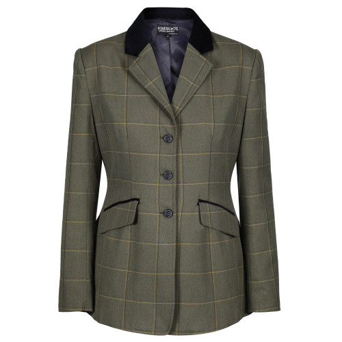 Kensworth Deluxe Tweed Riding Jacket