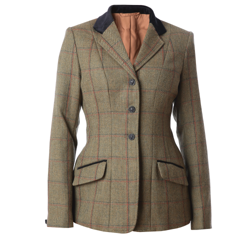 Launton Deluxe Tweed Riding Jacket