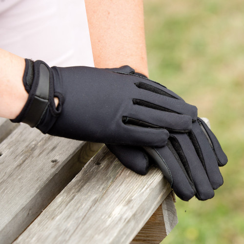 Stretch Show Gloves - Black 0