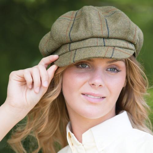 Launton Tweed Baker Boy Cap