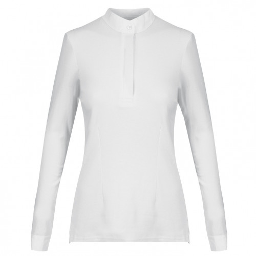 Ladies Thermal Cosy Stock Shirt  - White 14