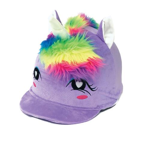 Childs Twilight Unicorn Hat Silk - Lavender O/S