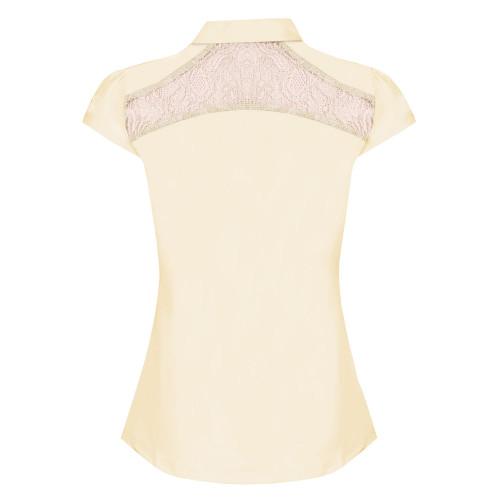 Lace Stretch Show Shirt
